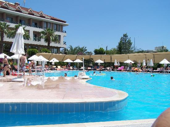 Goynuk, Turkey: pool area