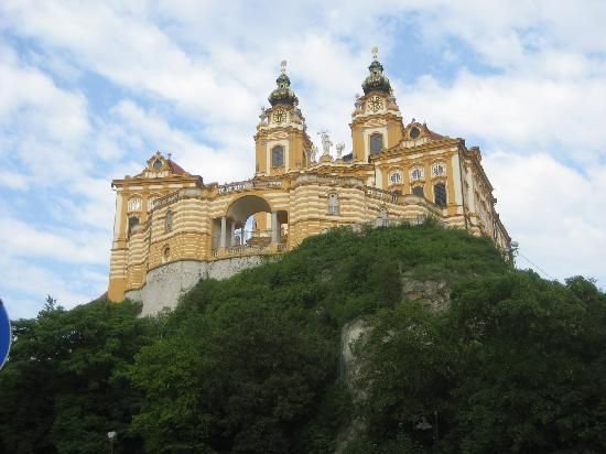 Abbey view from Melk