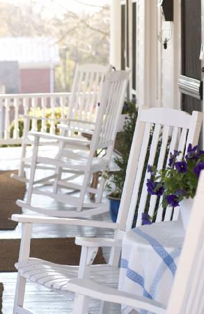 The Forever Inn: Porch with Rockers