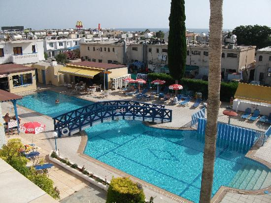 View Of The Pool From Our Balcony Picture Of