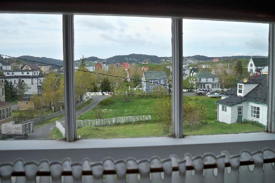 Artisan Inn: view from our room