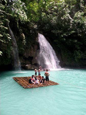 Moalboal, Filipina: at first falls