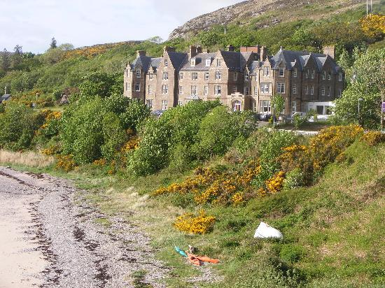View of Gairloch Hotel