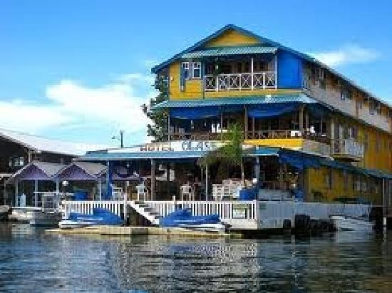 view of hotel olas from the boat :)