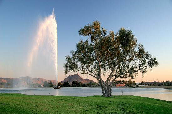 Fountain Hills, AZ: Fouontain Park - Fountain Lake
