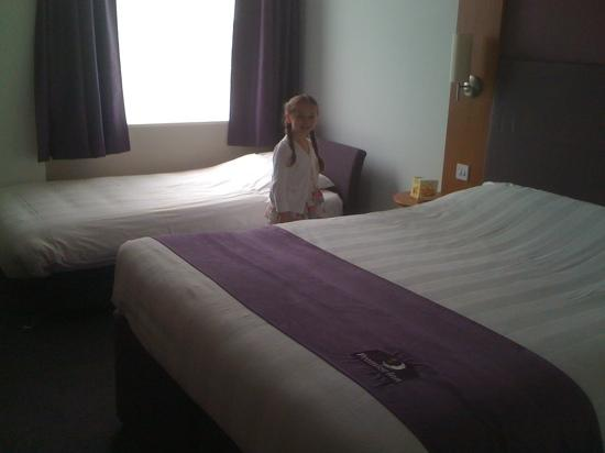 Premier Inn London Greenwich: family room