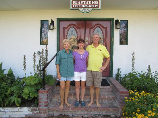 Plantation Bed & Breakfast: The hosts