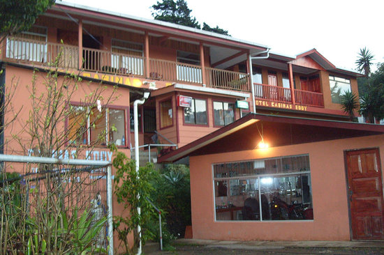 Cabinas Eddy B&amp;B: THE CABINAS EDDY FRONT  OUT SIDE