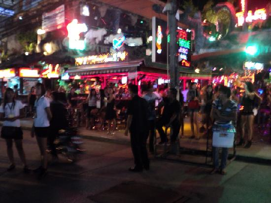 Patong, Thailand: bangala rd