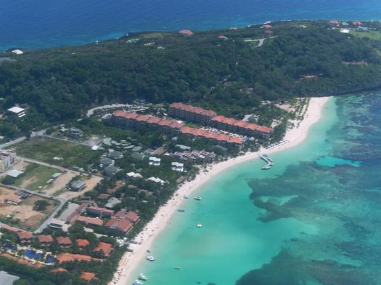 Aerial Picture Of Infinity Bay Spa And Beach Resort