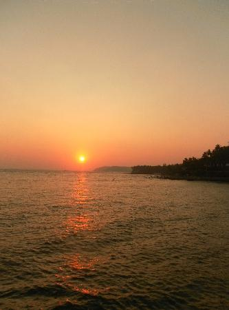 Cansaulim, India: Sunset cruise