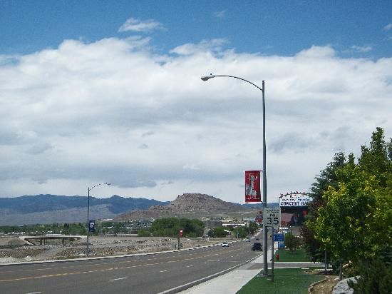Montego Bay Casino Resort: Wendover Blvd.- toward other casinos