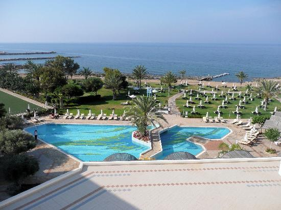Constantinou Bros Athena Royal Beach Hotel: View from Room 3331