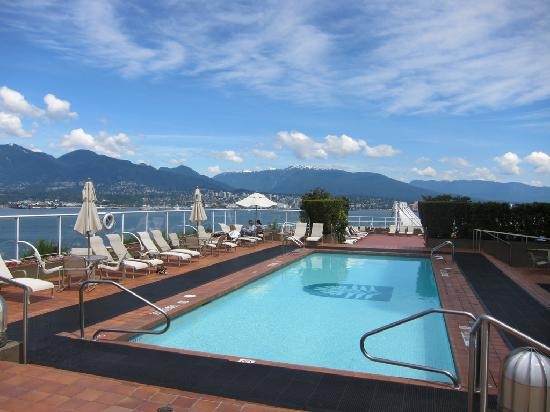 Ocean view ballroom picture of pan pacific vancouver - Hotels with saltwater swimming pools ...