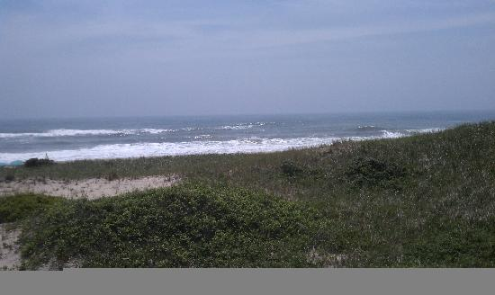 Amagansett, Nowy Jork: The view from the deck