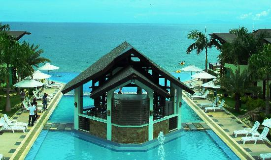 Acuatico Beach Resort &amp; Hotel: View from the top