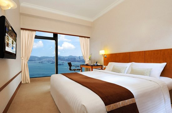 Island Pacific Hotel: Deluxe Full Harbour View Room
