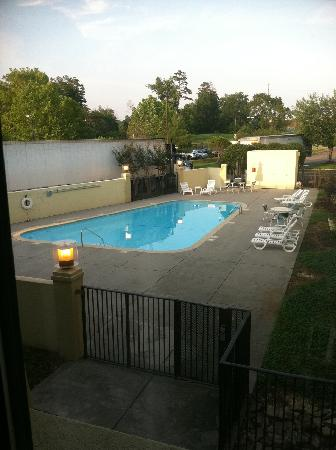 Clarion Inn & Suites: View from room of the pool