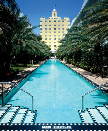 National Hotel Miami Beach: 205ft Infinity Pool