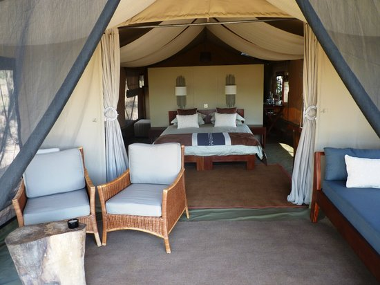 Naboisho Camp, Asilia Africa: Guesttent inside