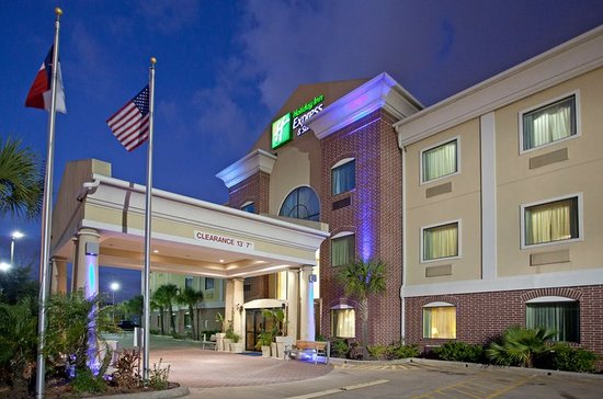 Holiday Inn Express Hotel & Suites Houston Medical Center: The Front at Dusk