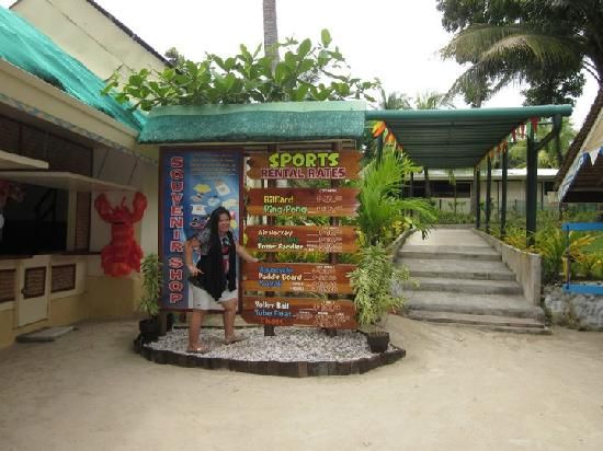 Samal Island, Filippinerne: Paradise Resort