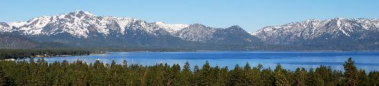Stateline, NV: view from my room at Harrah's South Lake Tahoe