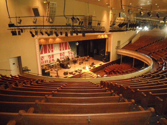 View of the stage from the balcony picture of ryman for The balcony music