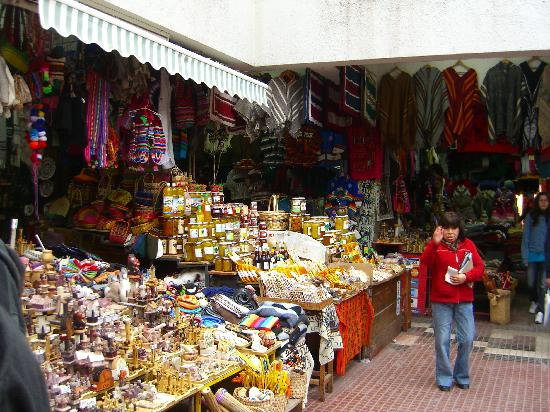 La Serena, Chile: artisans market