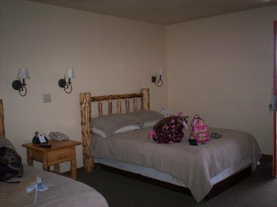 Econo Lodge Kalispell: one of two double beds