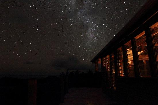 Matava - Fiji's Premier Eco Adventure Resort: midnight on the hill