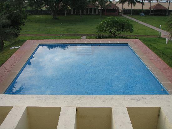 Swimming Pool Overlooking The Room Picture Of St James Court Beach Resort Kalapettai