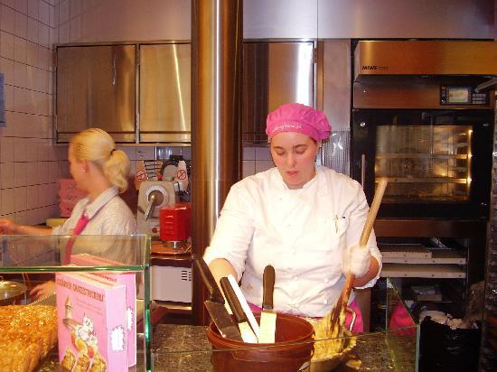 Berna, Suiza: Chocolate shop