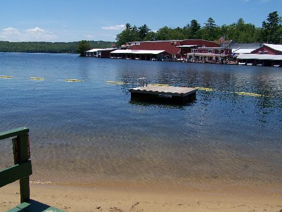 Proctor's Lakehouse Cottages: swim dock