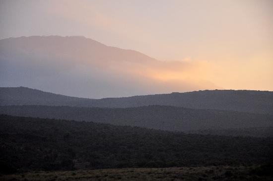 Kilimanjaro National Park, Tanzanie : The mountain at sunrise