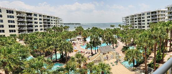 Destin West Beach and Bay Resort: Daytime Panoramic