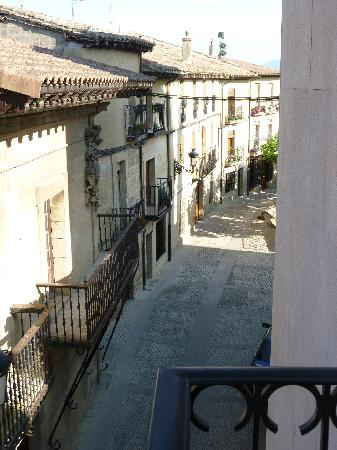 Elciego, Espagne : view from room