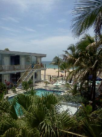 Captain&#39;s Quarters Resort: The view from our room