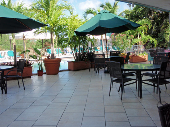Magens Point Resort: New pool deck tile
