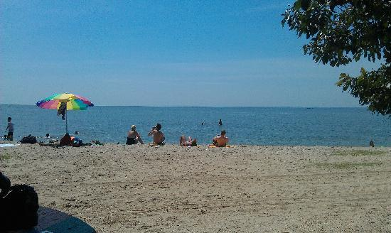 Piney Point, MD: View from our tent