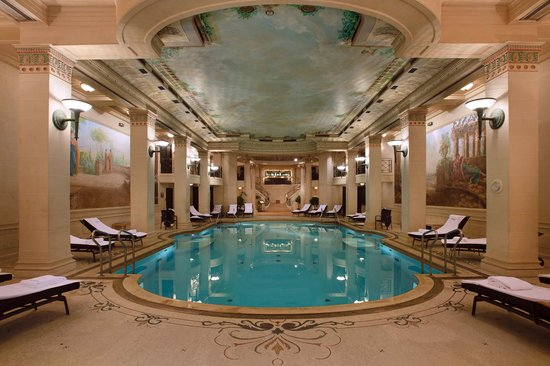 Hotel Ritz Paris : Swimming pool