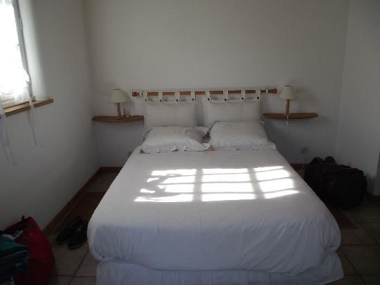 Le Bois-Plage-en-Re, Frankrike: Our lovely little room...