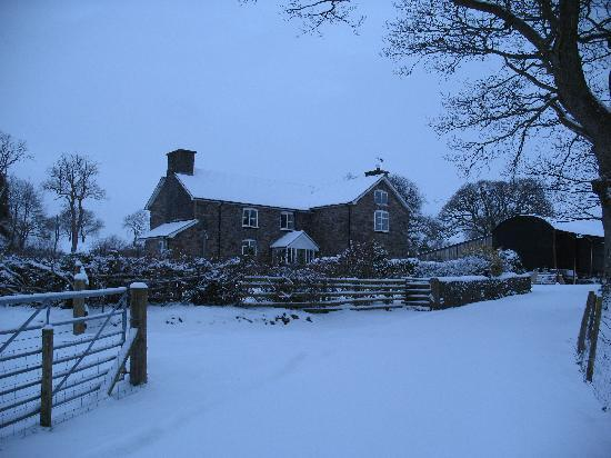 Gwaenynog - beautiful even in the snow