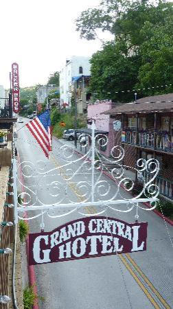 Grand Central Hotel: From Porch