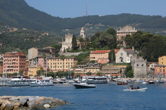 Santa Margherita Ligure from ferry