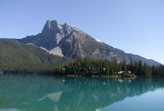 Emerald Lake Lodge : Das Gelände der Lodge(s)