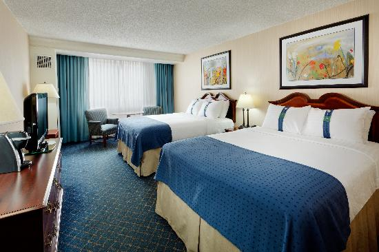Holiday Inn Buffalo Amherst: Double room Non smoking