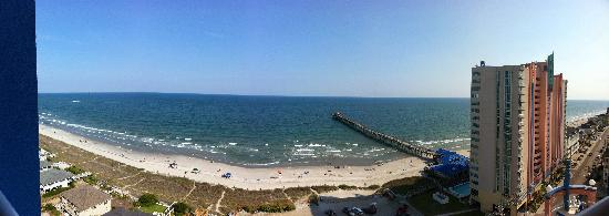 Prince Resort Condos: Panoramic picture of room - 16th floor, tower B