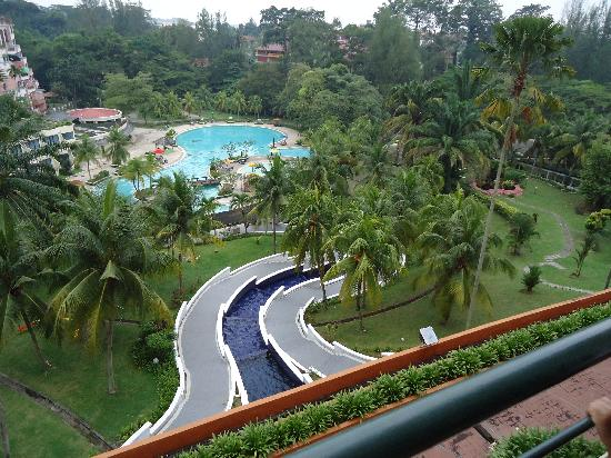 Seremban, Malaysia: The view from the balcony