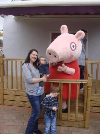 Romsey, UK: Meeting Peppa Pig